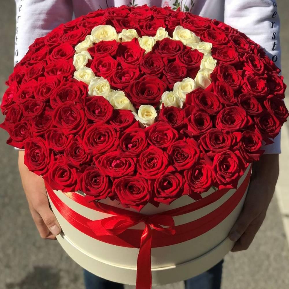 огромная картинка с розами сердце песенки поет